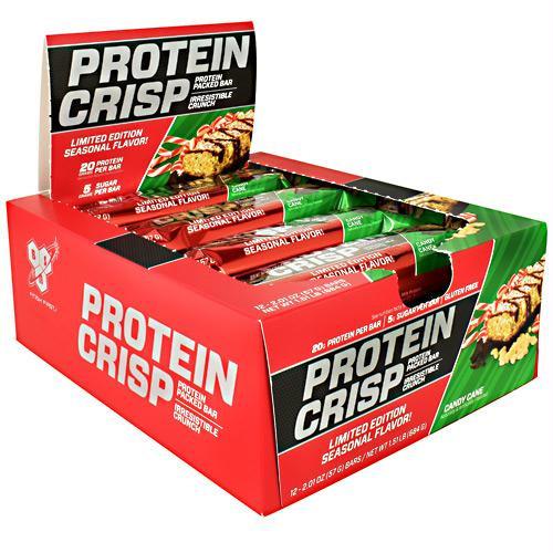 BSN Protein Crisps Candy Cane - Gluten Free