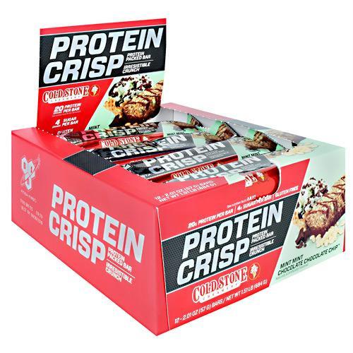 BSN Cold Stone Creamery Protein Crisps Mint Mint Chocolate Chocolate Chip - Gluten Free