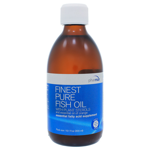 Finest Pure Fish Oil with Plant Sterols Orange by Pharmax 300ml