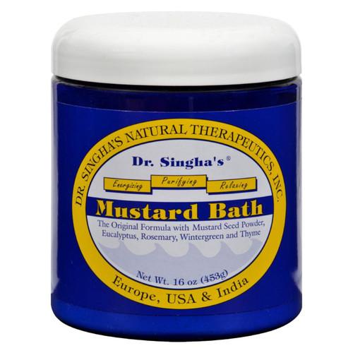 Dr. Singha's Mustard Bath - 16 Oz