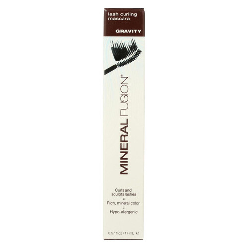 Mineral Fusion - Mascara - Curling Gravity - 0.57 Oz.