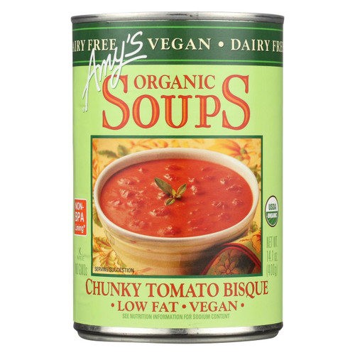 Amy's  Chunky Tomato Bisque - Case Of 12 - 14.1 Oz