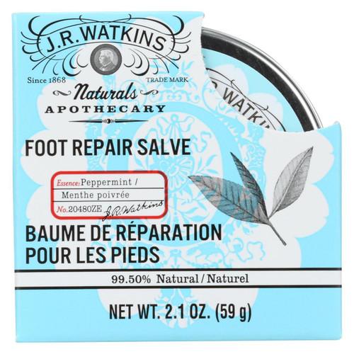 J.r. Watkins Foot Repair Salve - 2.1 Oz