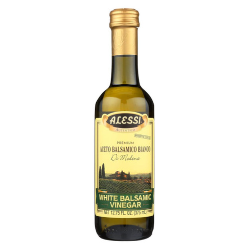 Alessi - Vinegar - White Balsamic - Case Of 6 - 12.75 Fl Oz.