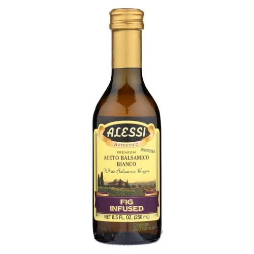 Alessi - Fig Infused Vinegar - White Balsamic - Case Of 6 - 8.5 Fl Oz.