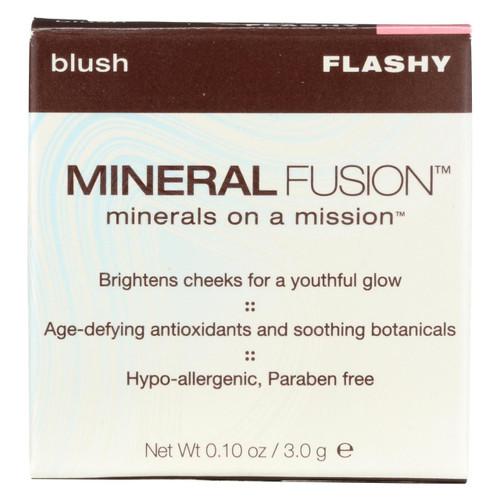 Mineral Fusion - Blush - Flashy - 0.1 Oz.