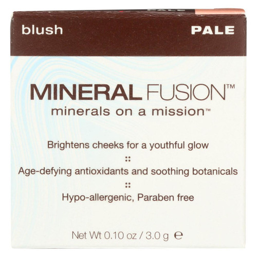 Mineral Fusion - Blush - Pale - 0.1 Oz.