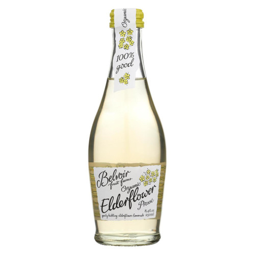 Belvoir Beverage - Organic - Elderflower - Presse - Case Of 24 - 8.45 Fl Oz