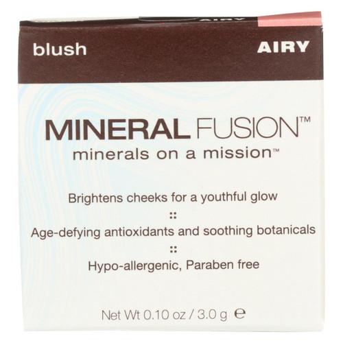 Mineral Fusion - Blush - Airy - 0.1 Oz.