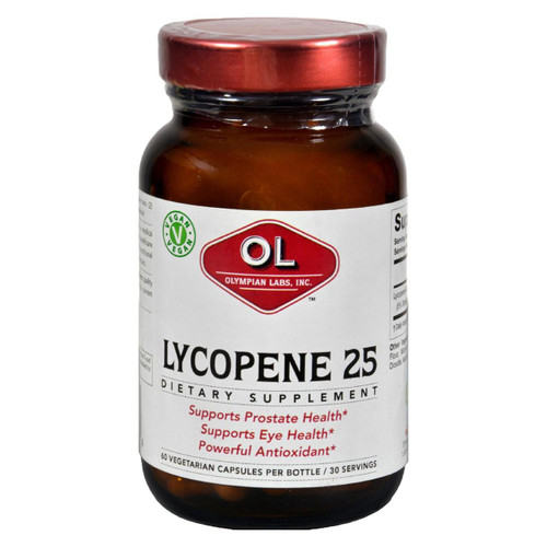 Olympian Labs Lycopene - 25 Mg - 60 Vegetarian Capsules