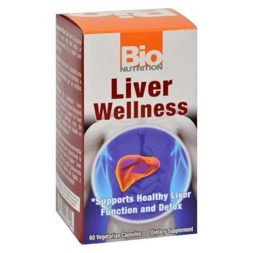 Bio Nutrition - Liver Wellness - 60 Vegetarian Capsules