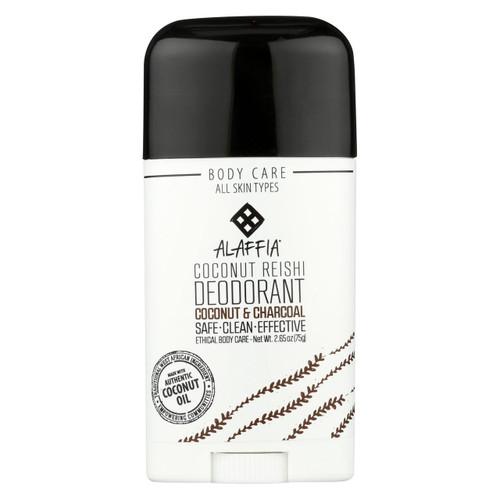 Alaffia - Deodorant - Coconut Reishi - 2.65 Oz.
