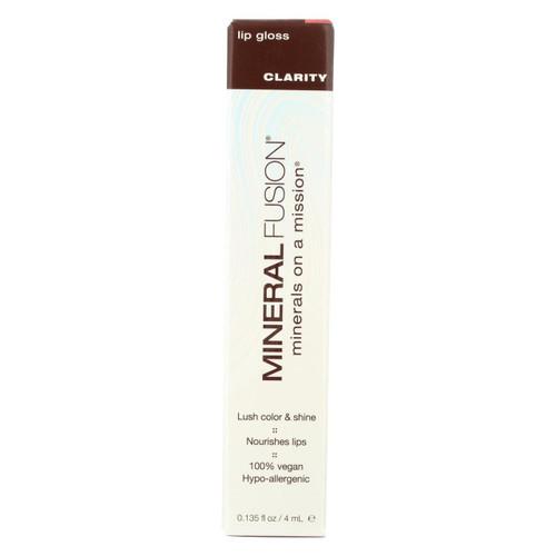 Mineral Fusion - Lip Gloss - Clarity - 0.135 Oz.