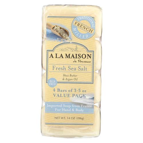 A La Maison - Bar Soap - Fresh Sea Salt - 4/3.5 Oz