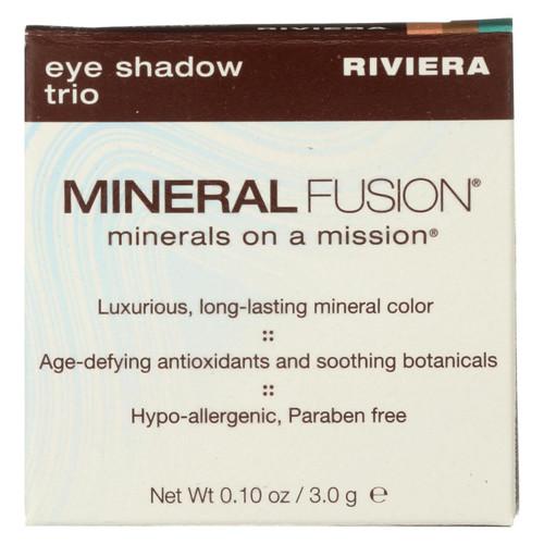 Mineral Fusion - Eye Shadow Trio - Riviera - 0.1 Oz.