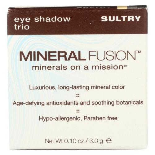 Mineral Fusion - Eye Shadow Trio - Sultry - 0.1 Oz.