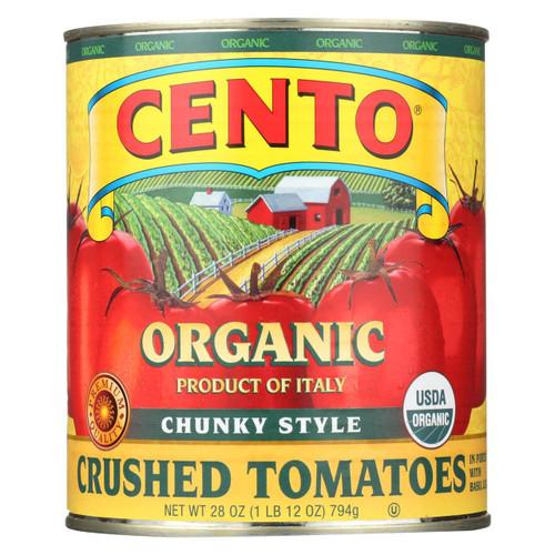 Cento - Chunky Style Crushed Tomatoes - Case Of 6 - 28 Oz.