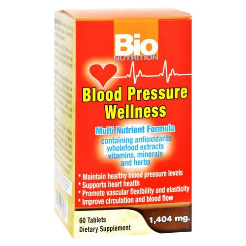 Bio Nutrition - Blood Pressure Wellness - 60 Tablets