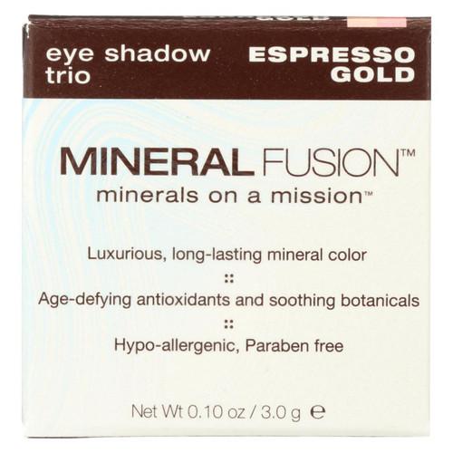 Mineral Fusion - Eye Shadow Trio - Esp Gold - 0.1 Oz.