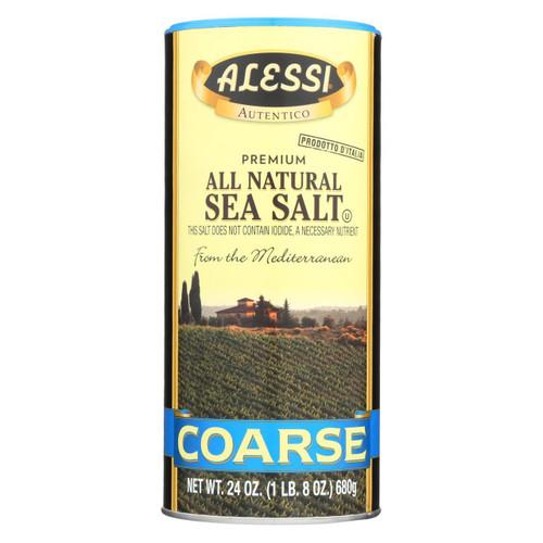 Alessi - Mediterranean Sea Salt - Coarse - Case Of 6 - 24 Oz.