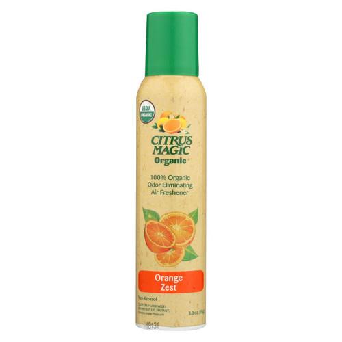 Citrus Magic Air Freshener - Odor Eliminating - Spray - Fresh Orange - 3.5 Oz