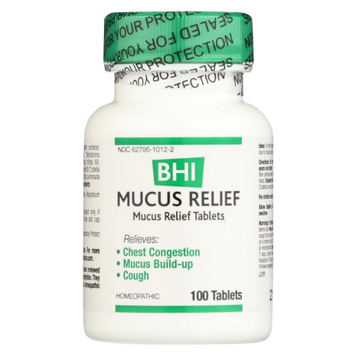 Bhi Mucus Relief - 100 Tablets