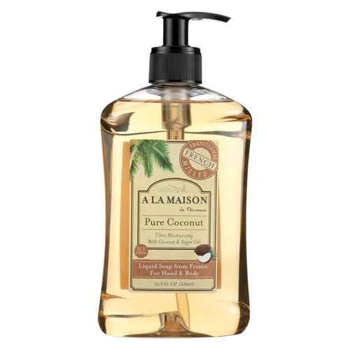A La Maison - French Liquid Soap - Coconut - 16.9 Oz