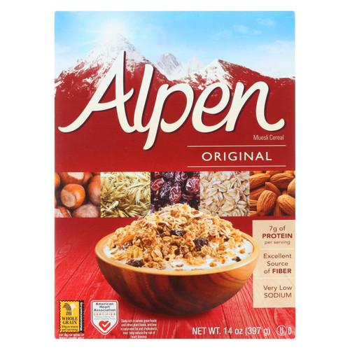 Alpen Original Muesli Cereal - Case Of 12 - 14 Oz.