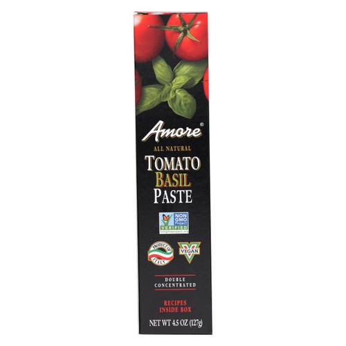 Amore Tomato Basil Paste - Case Of 12 - 4.5 Oz