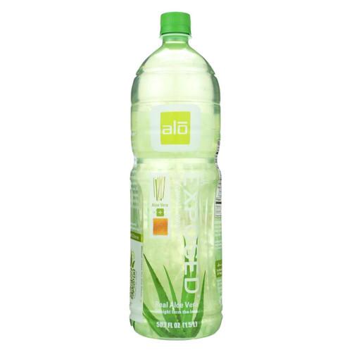 Alo Original Exposed Aloe Vera Juice Drink - Original And Honey - Case Of 6 - 50.7 Fl Oz.