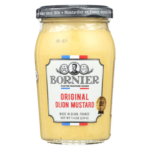 Bornier - Mustard - Dijon - Case Of 6 - 7.4 Oz.