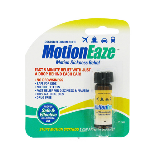 Motioneaze Motion Sickness Relief - Case Of 6 - 2.5 Ml