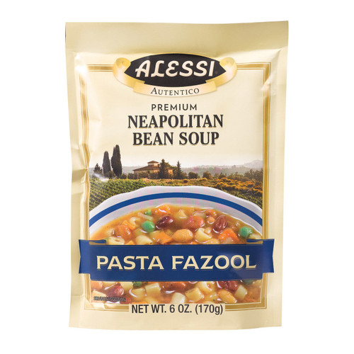 Alessi - Neapolitan Bean Soup - Pasta Fazool - Case Of 6 - 6 Oz.