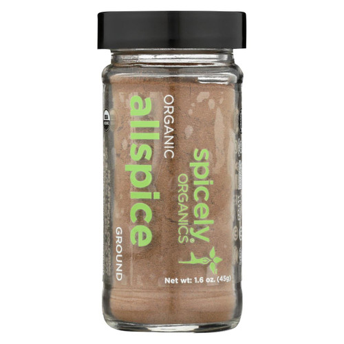 Spicely Organics - Organic Allspice - Ground - Case Of 3 - 1.6 Oz.