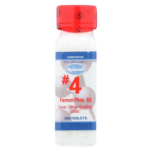 Hyland's No 4 Ferrum Phos 6x - 1 G - 500 Tablets