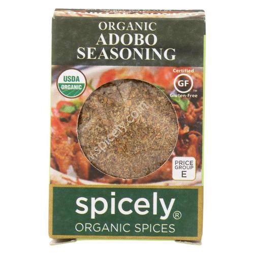 Spicely Organics - Organic Adobo Seasoning - Case Of 6 - 0.4 Oz.