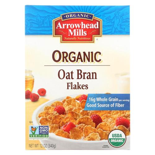 Arrowhead Mills - Oat Bran Flake - Blend Cereal - Case Of 12 - 12 Oz.