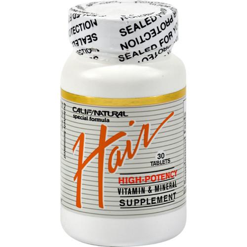 California Natural Hair - 30 Tablets