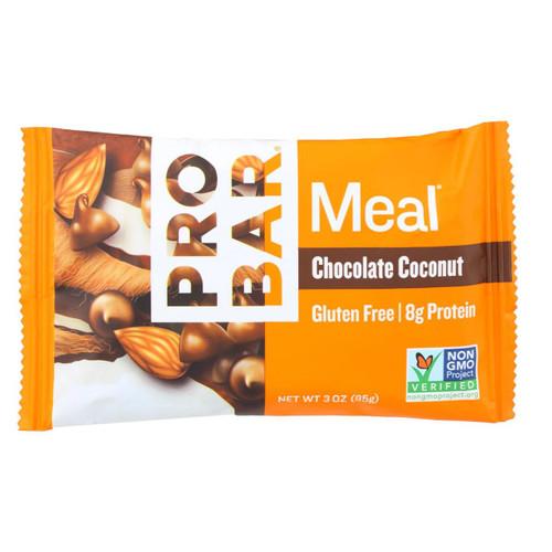 Probar Organic Chocolate Coconut Bar - Case Of 12 - 3 Oz