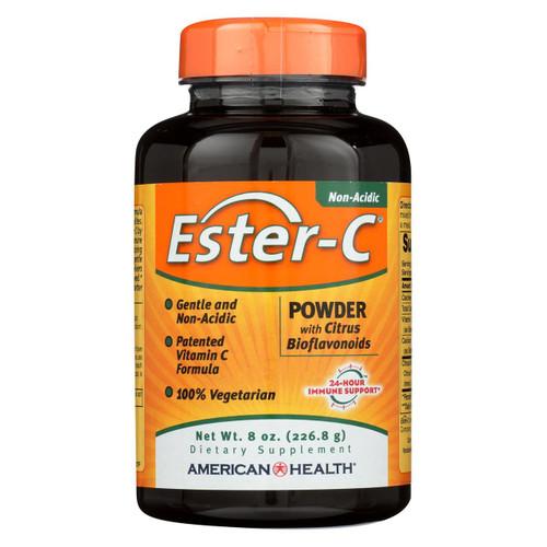 American Health - Ester-c Powder With Citrus Bioflavonoids - 8 Oz