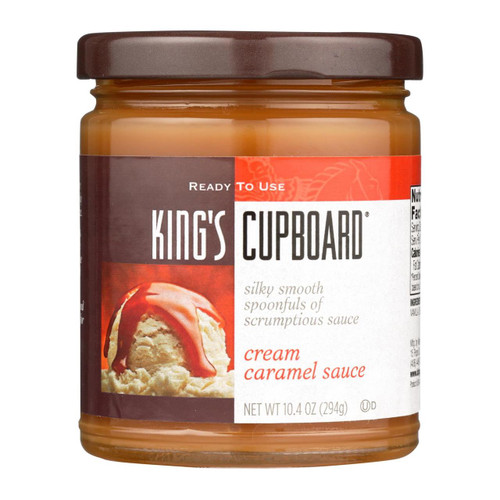 The King's Cupboard Cream - Caramel Sauce - Case Of 12 - 10.4 Oz.