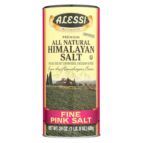 Alessi - Himalyn Salt Pink Fine - Case Of 6-24 Oz.