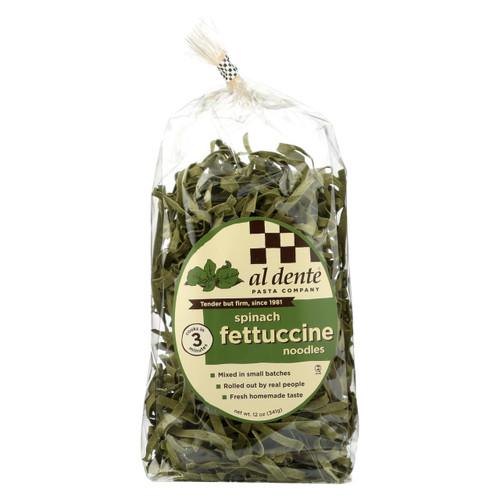 Al Dente - Fettuccine - Spinach - Case Of 6 - 12 Oz.