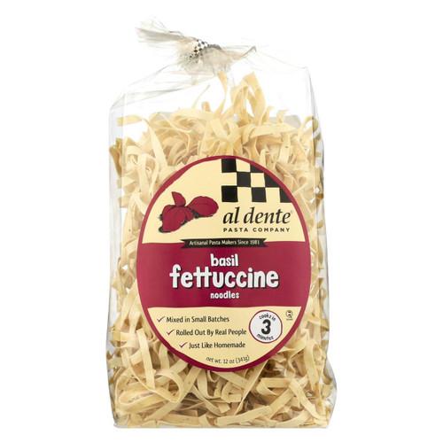 Al Dente - Fettucine - Basil - Case Of 6 - 12 Oz.