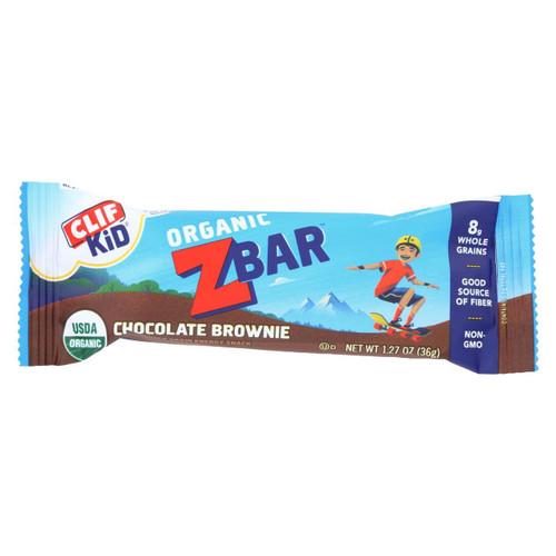 Clif Bar Zbar - Organic Chocolate Brownie - Case Of 18 - 1.27 Oz