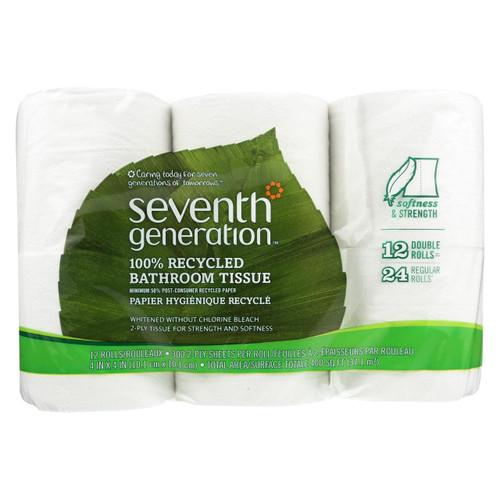 Seventh Generation Bathroom Tissue - Case Of 4 - 300 Count