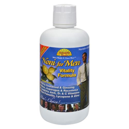 Dynamic Health Noni For Men Vitality Formula - 32 Fl Oz