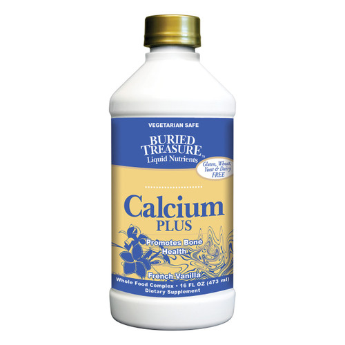 Buried Treasure - Calcium Plus French Vanilla - 16 Fl Oz