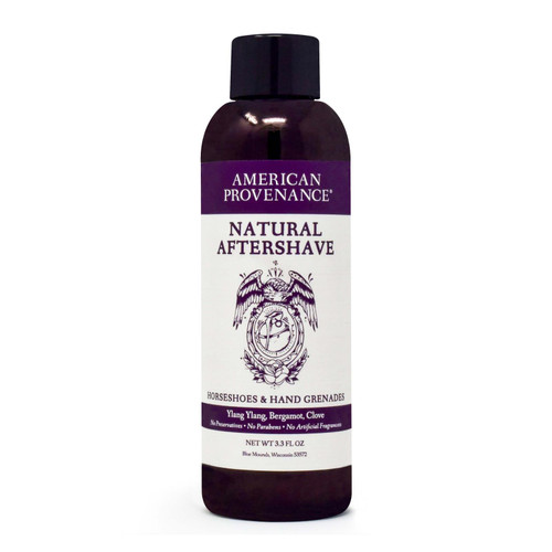 American Provenance - Aftershave - Horseshoes And Hand Grenades - 3.3 Fl Oz.