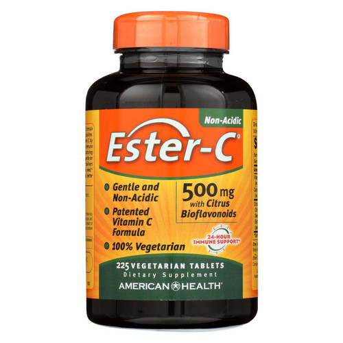 American Health - Ester-c With Citrus Bioflavonoids - 500 Mg - 225 Vegetarian Tablets